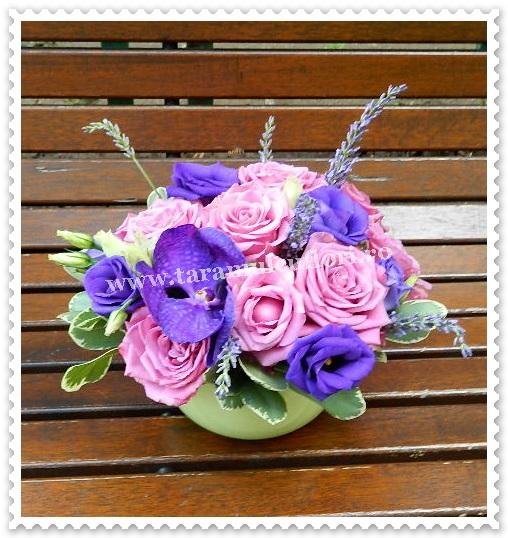 Aranjamente florale nunti cu lavanda.6457